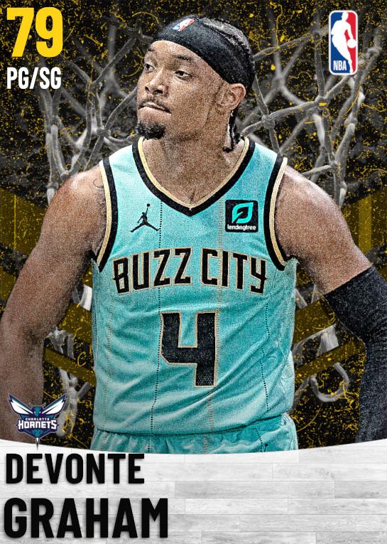 79 Devonte Graham   Charlotte Hornets