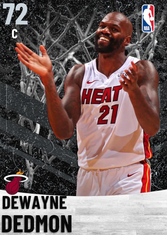 72 Dewayne Dedmon   Miami Heat