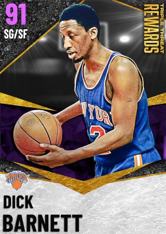91 Dick Barnett   undefined