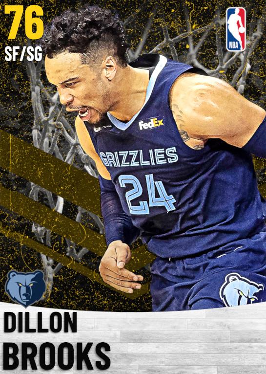 76 Dillon Brooks   Memphis Grizzlies