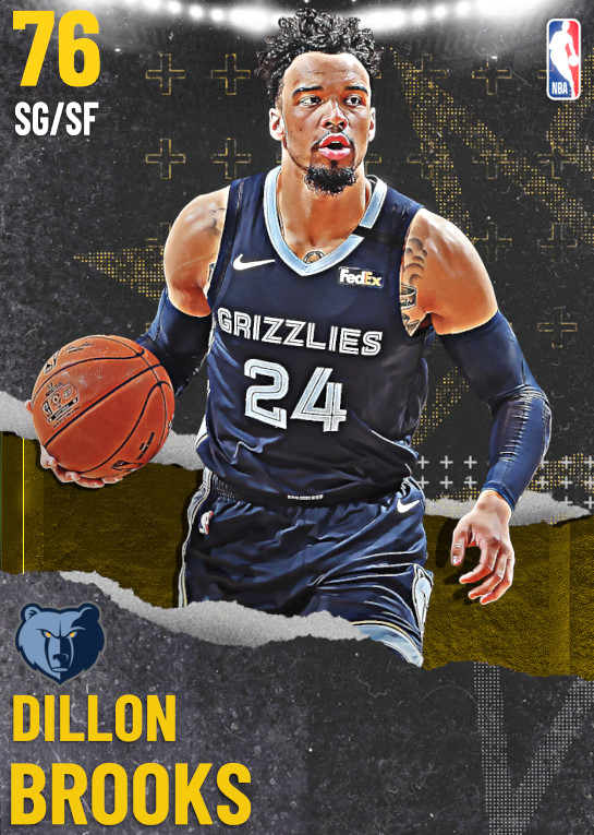 76 Dillon Brooks   undefined