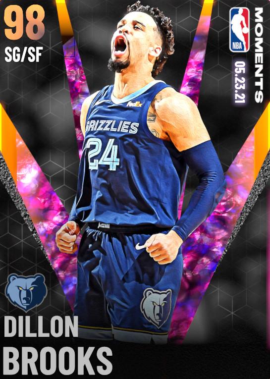 98 Dillon Brooks   Memphis Grizzlies