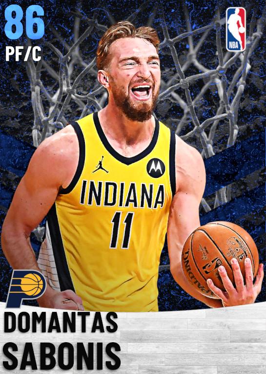 86 Domantas Sabonis   Indiana Pacers