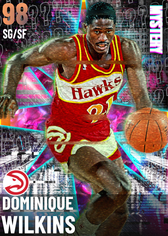 98 Dominique Wilkins | Mystery