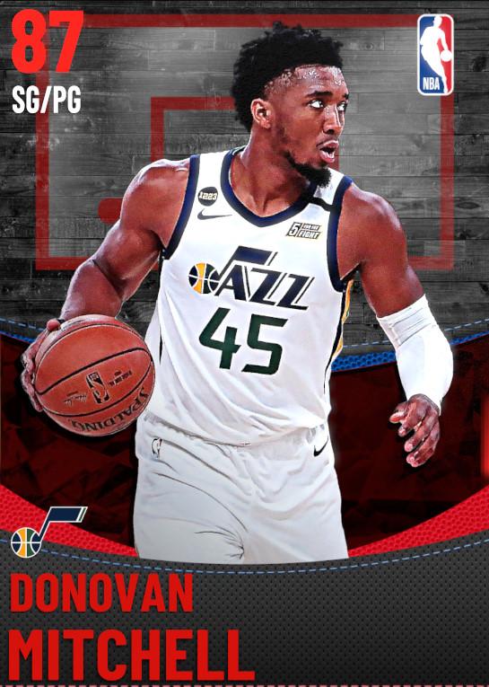 87 Donovan Mitchell | Utah Jazz