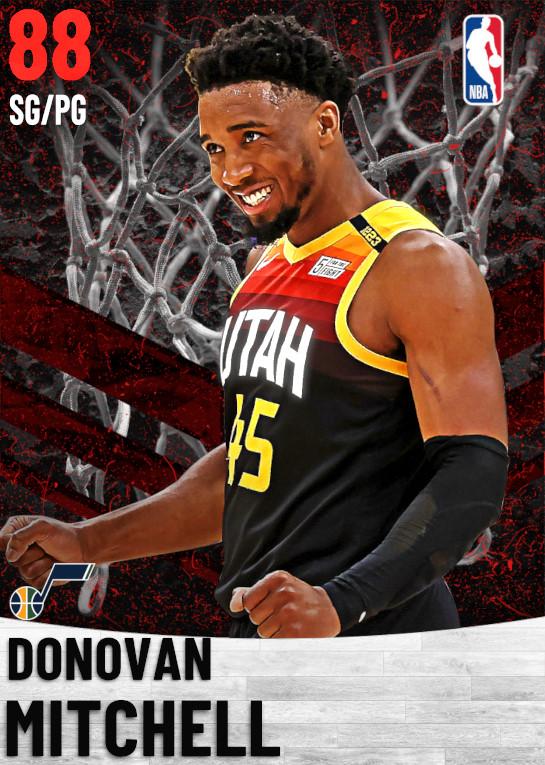 88 Donovan Mitchell   Utah Jazz