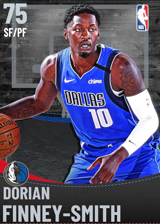 75 Dorian Finney-Smith | Dallas Mavericks