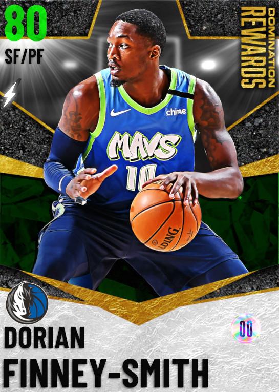 80 Dorian Finney-Smith   Domination Rewards