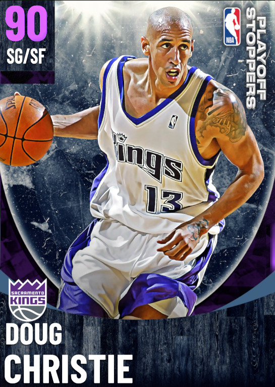 90 Doug Christie   One Will Rise Playoff Stoppers