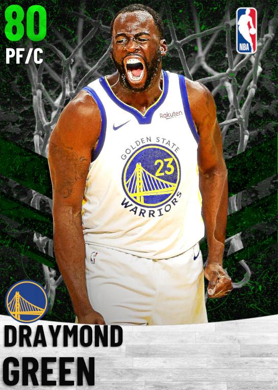 80 Draymond Green   Golden State Warriors