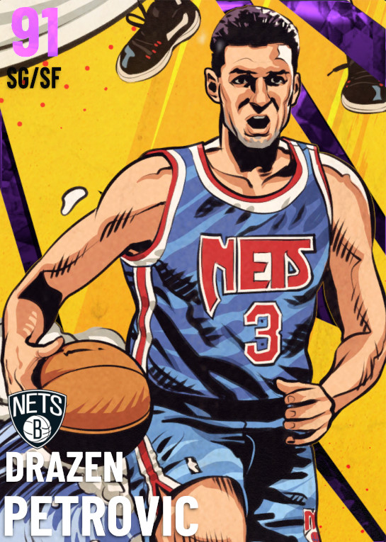 91 Drazen Petrovic | Golden Age