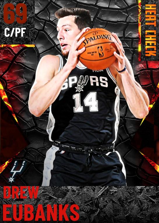 69 Drew Eubanks | San Antonio Spurs