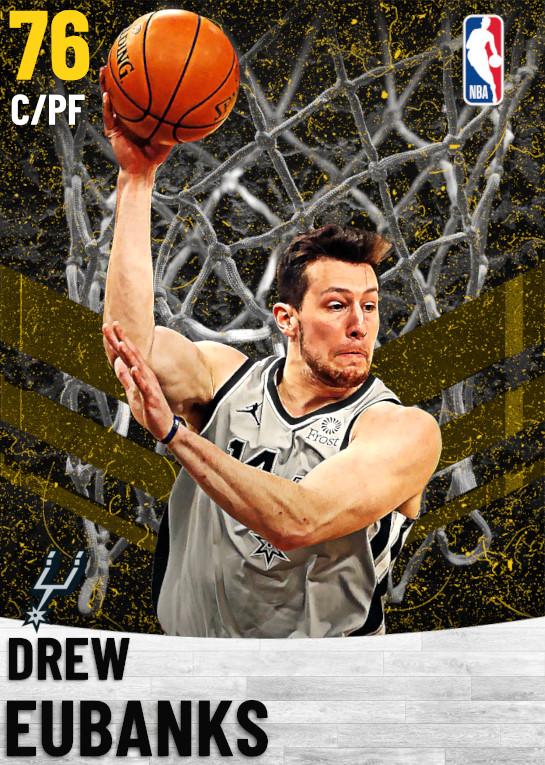 76 Drew Eubanks   San Antonio Spurs