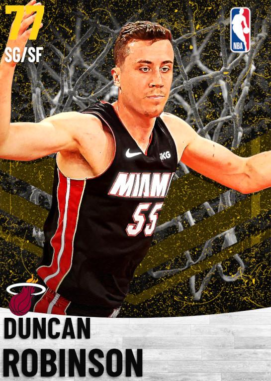 77 Duncan Robinson   Miami Heat