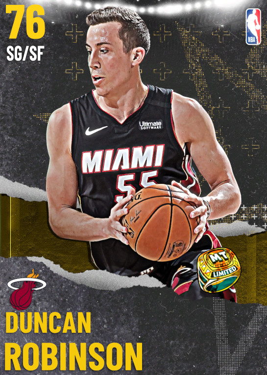 76 Duncan Robinson | undefined