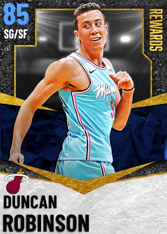 85 Duncan Robinson   Season 2 Rewards