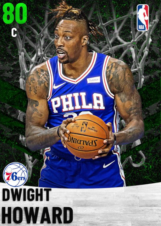 80 Dwight Howard   Philadelphia 76ers