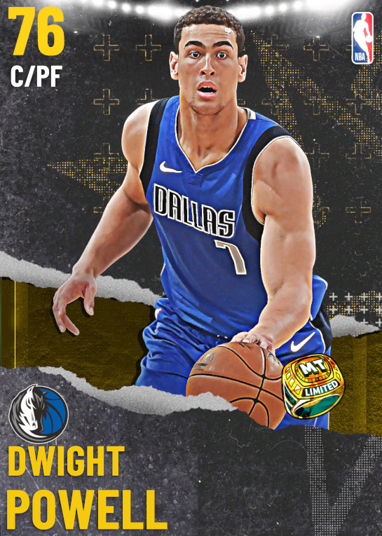 76 Dwight Powell | undefined