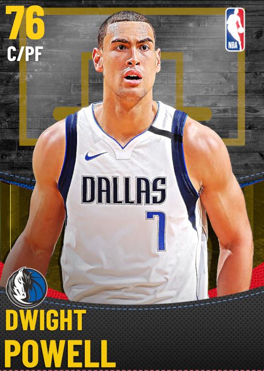76 Dwight Powell | Dallas Mavericks