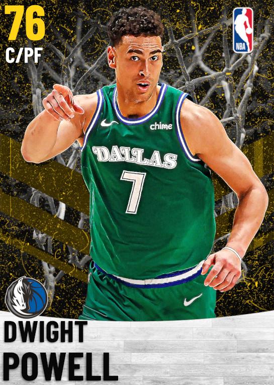 76 Dwight Powell   Dallas Mavericks