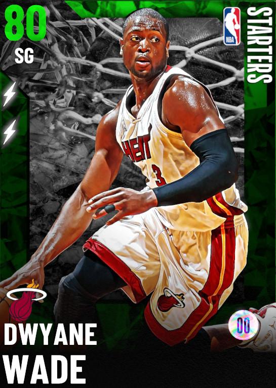 80 Dwyane Wade   Starter