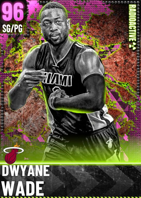 96 Dwyane Wade | Radioactive