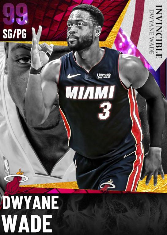 99 Dwyane Wade   Invincible