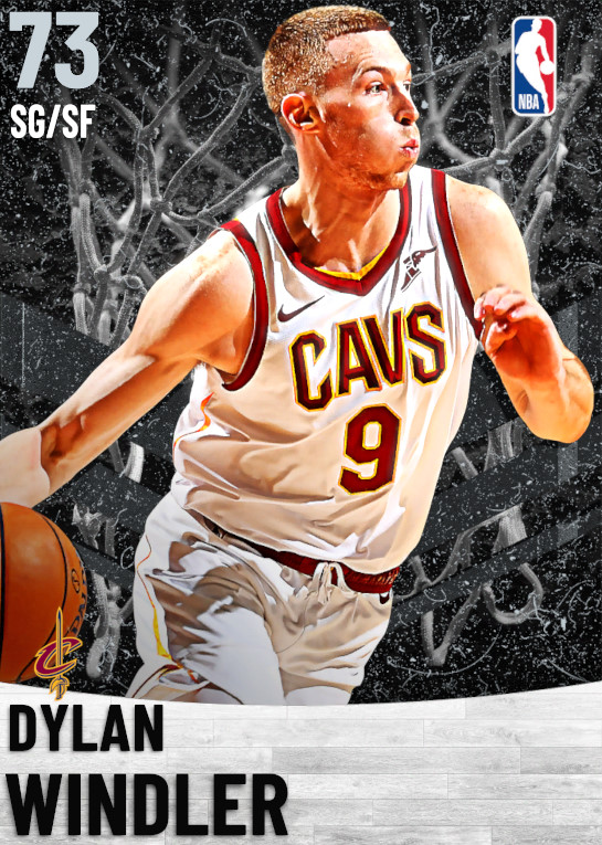 73 Dylan Windler   Cleveland Cavaliers
