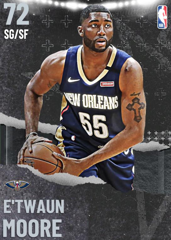 72 E'Twaun Moore   undefined