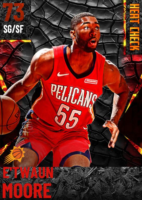 73 E'Twaun Moore | Phoenix Suns