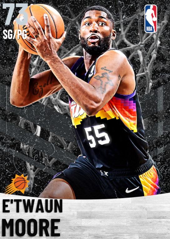 73 E'Twaun Moore   Phoenix Suns