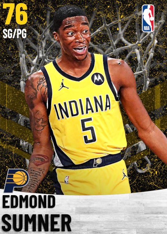 76 Edmond Sumner   Indiana Pacers