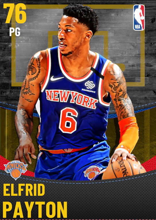 76 Elfrid Payton | New York Knicks