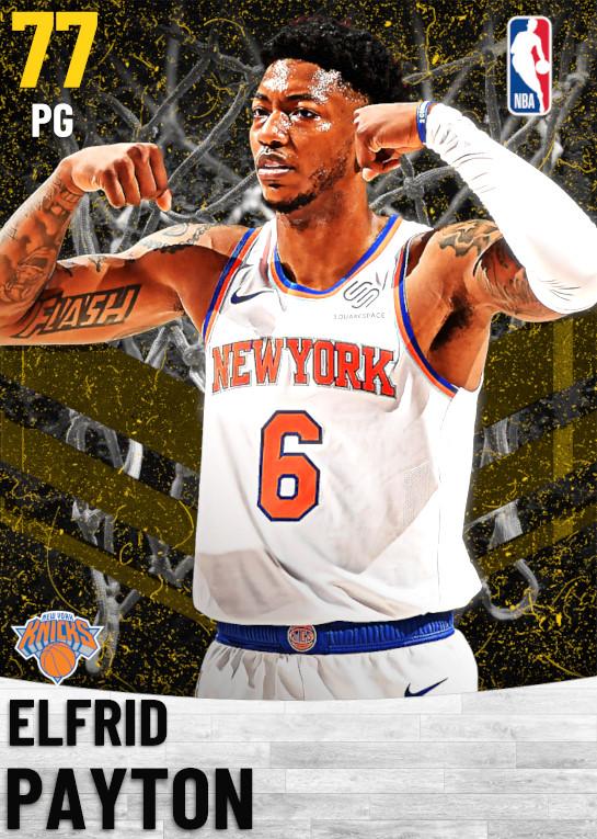 77 Elfrid Payton   New York Knicks