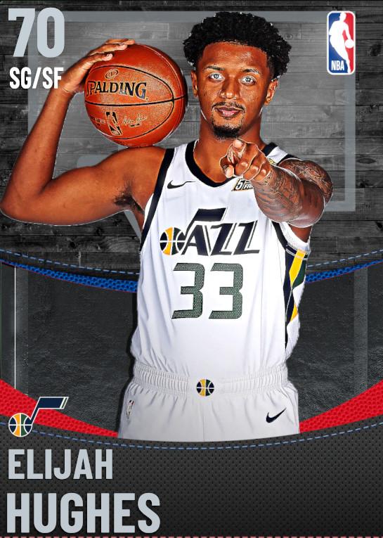 70 Elijah Hughes | Utah Jazz