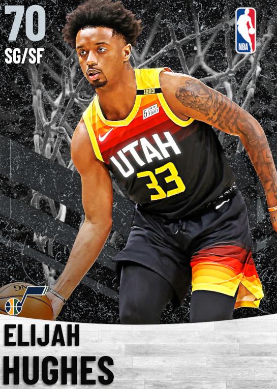 70 Elijah Hughes   Utah Jazz