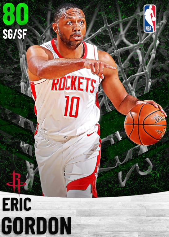 80 Eric Gordon   Houston Rockets