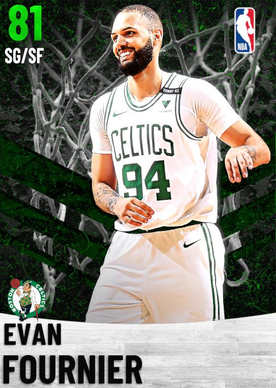 81 Evan Fournier   Boston Celtics