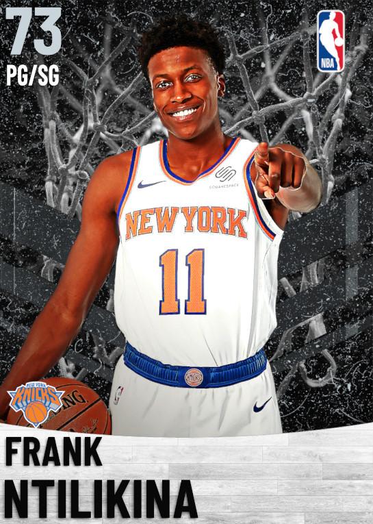73 Frank Ntilikina   New York Knicks