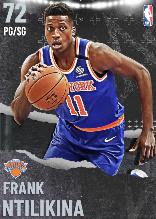 72 Frank Ntilikina | undefined