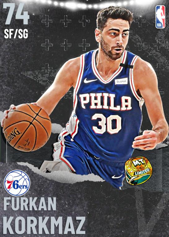 74 Furkan Korkmaz   Philadelphia 76ers