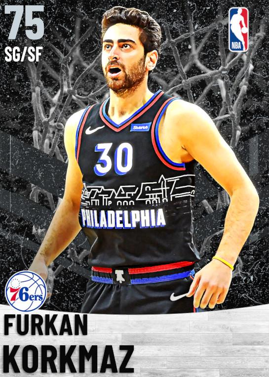 75 Furkan Korkmaz   Philadelphia 76ers