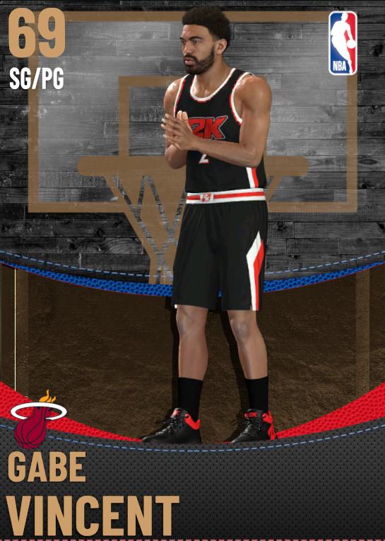 69 Gabe Vincent | Miami Heat