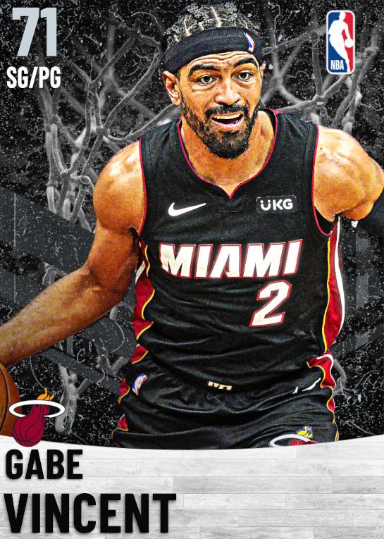 71 Gabe Vincent   Miami Heat