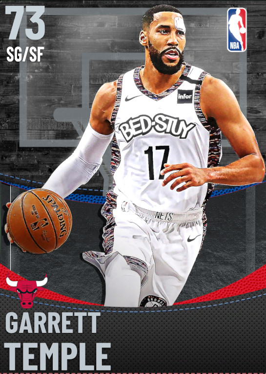 73 Garrett Temple | Chicago Bulls