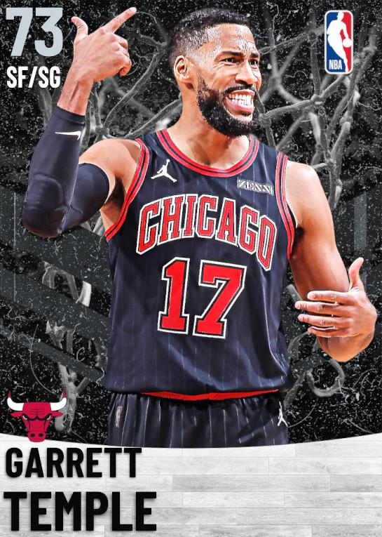 73 Garrett Temple   Chicago Bulls