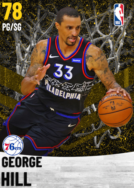 78 George Hill   Philadelphia 76ers