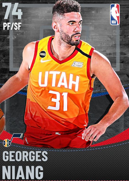 74 Georges Niang | Utah Jazz