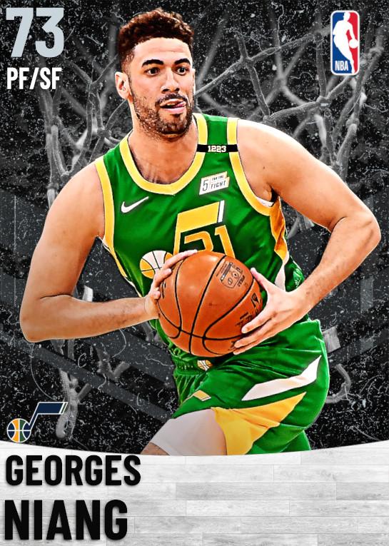 73 Georges Niang   Utah Jazz