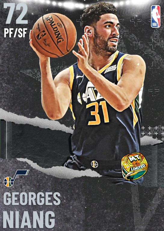 72 Georges Niang | undefined